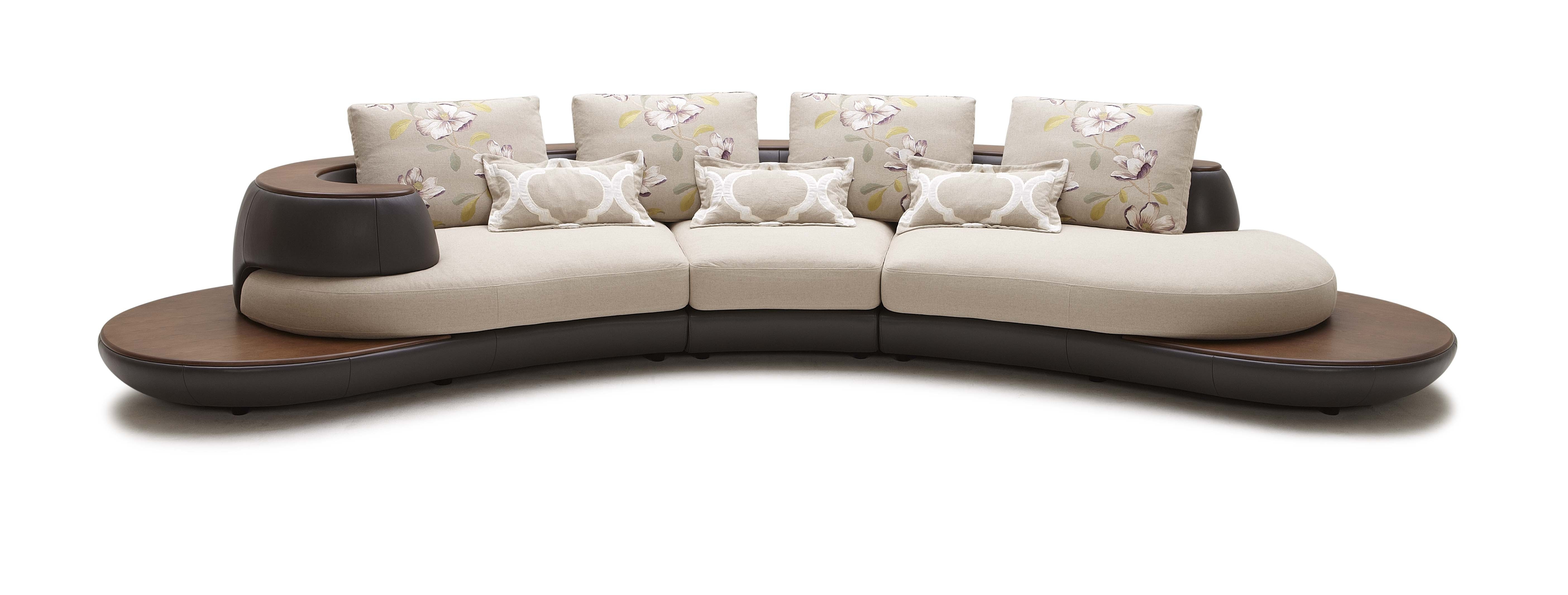 Fabric Sectional Sofas With Chaise – Visionexchange (View 4 of 15)