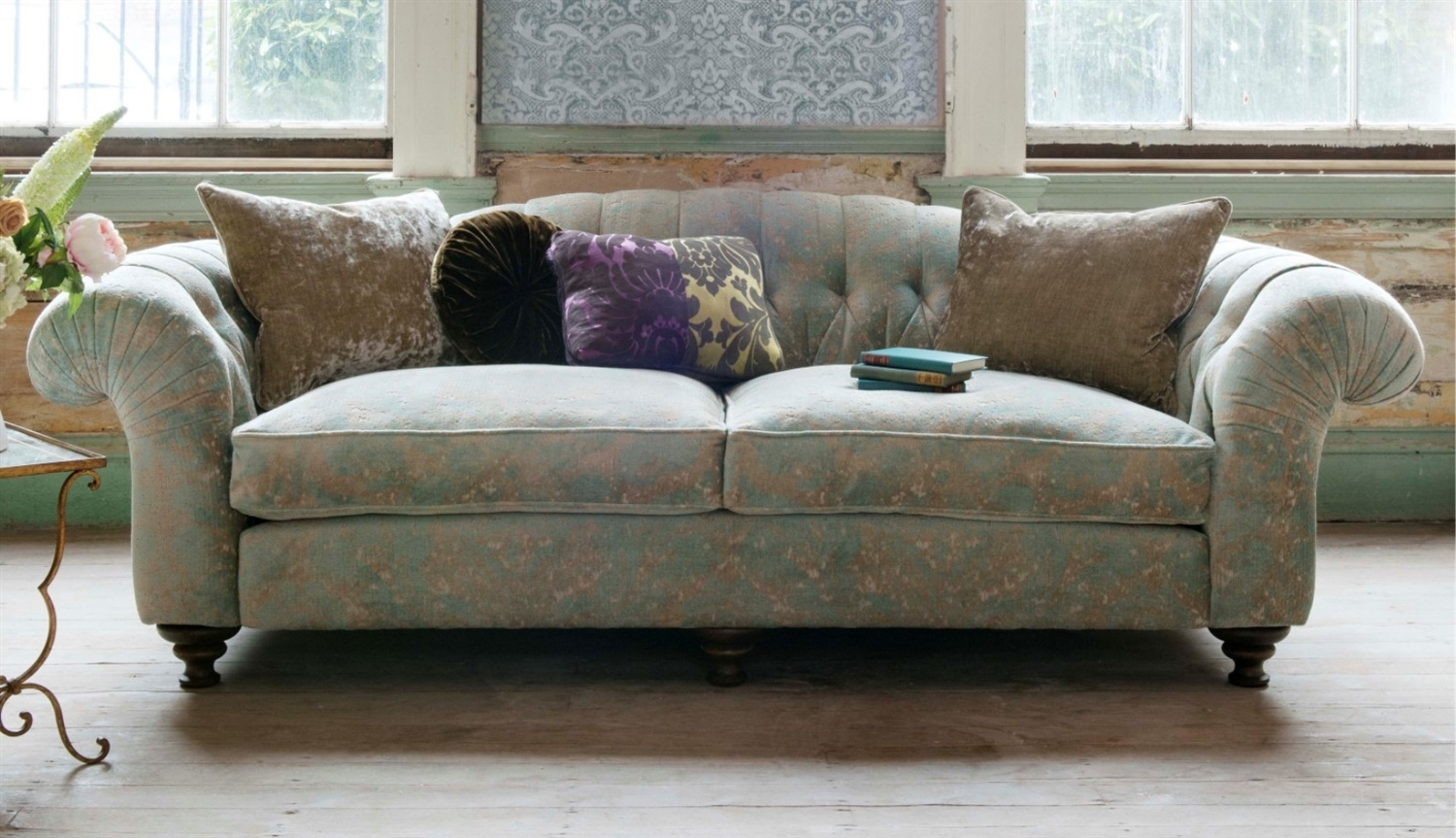 Fabric Sofas Within Popular Sofas – Luxury Handcrafted British Fabric Sofas (View 6 of 15)
