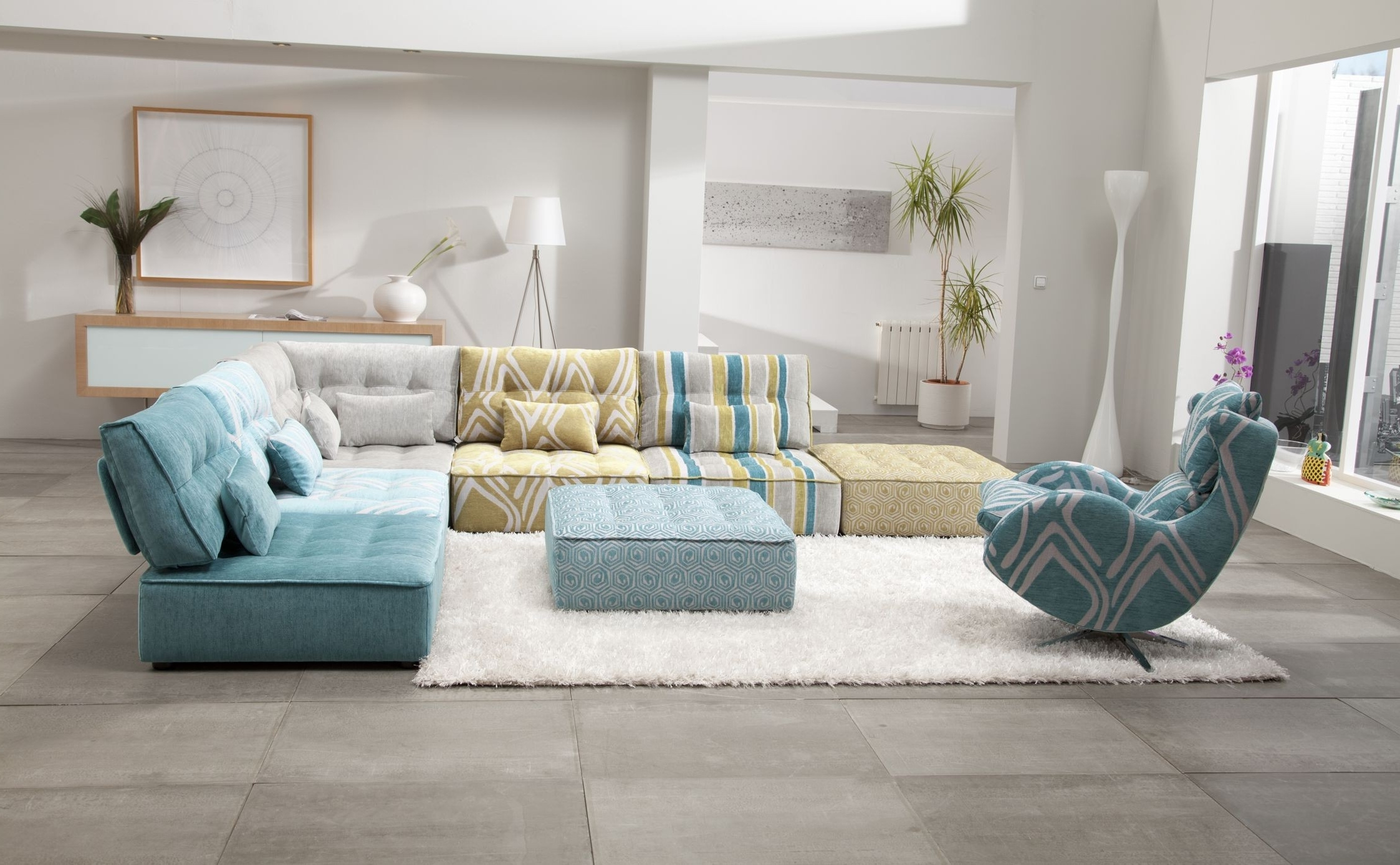 Fama Sofas Throughout Modular Sectional Sofas (View 2 of 15)