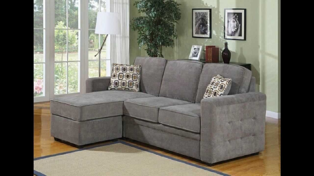 Famous 2 Pc Lucas Charcoal Fabric Upholstered Sectional Sofa With Throughout Reversible Chaises (View 3 of 15)