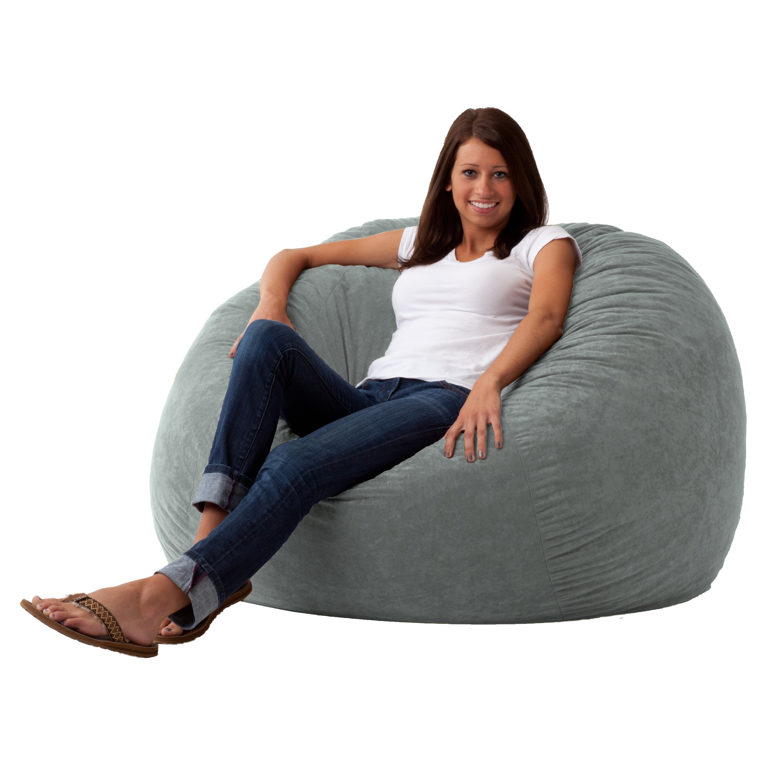Famous Bean Bag Sofas And Chairs In Fuf 5 Ft (View 7 of 15)
