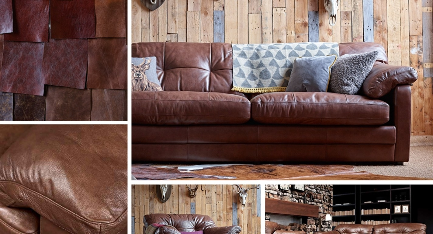 Famous Canterbury Leather Sofas Pertaining To Sofa : Stylish Canterbury Leather Sofa Range Dreadful Canterbury (View 6 of 15)