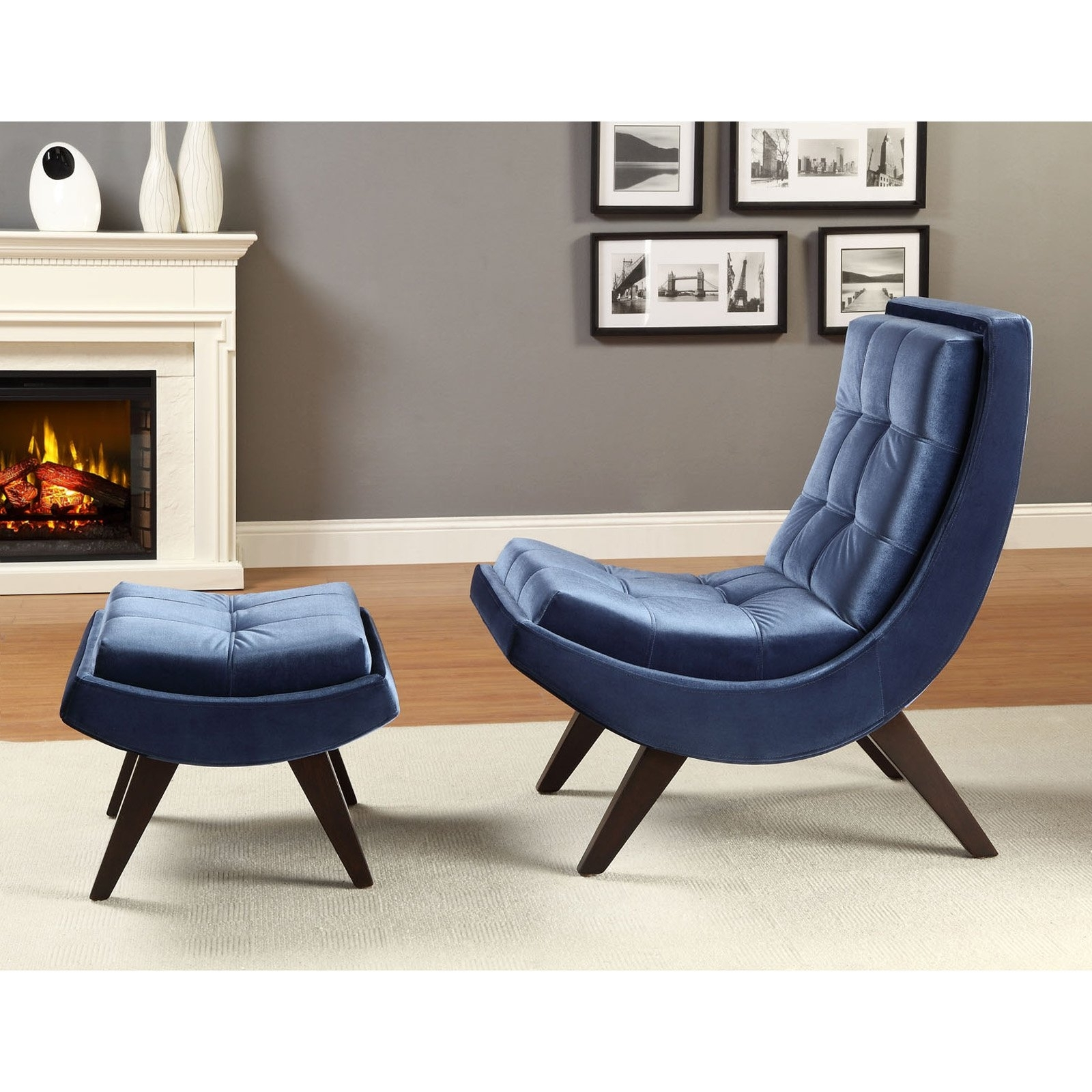 Famous Chaise Lounge Chairs With Ottoman Within Chaise Lounge Chair With Ottoman • Lounge Chairs Ideas (View 5 of 15)