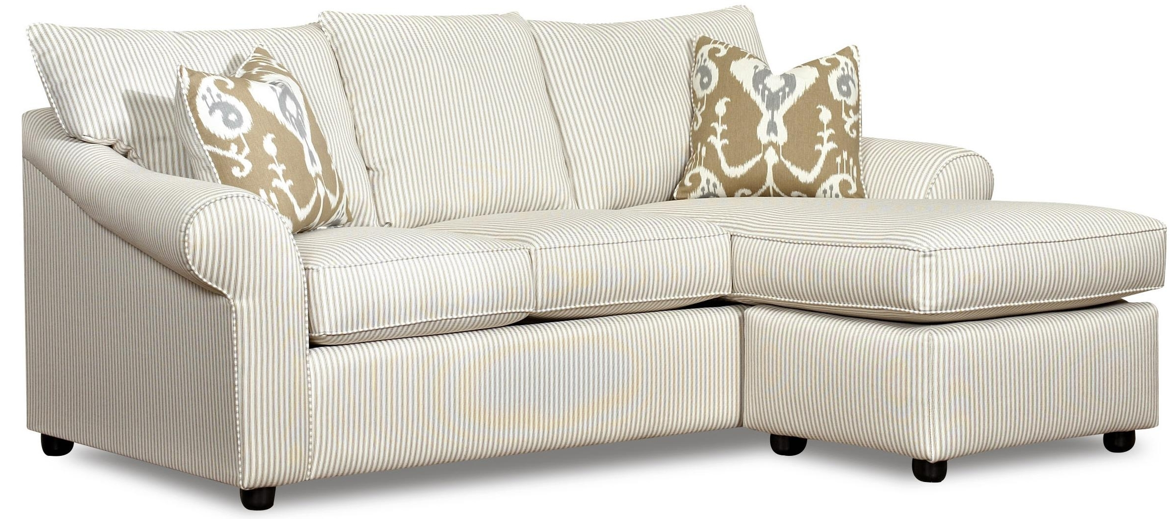 Famous Chaise Lounge Sofas Within Sofa With Reversible Chaise Loungeklaussner (View 7 of 15)