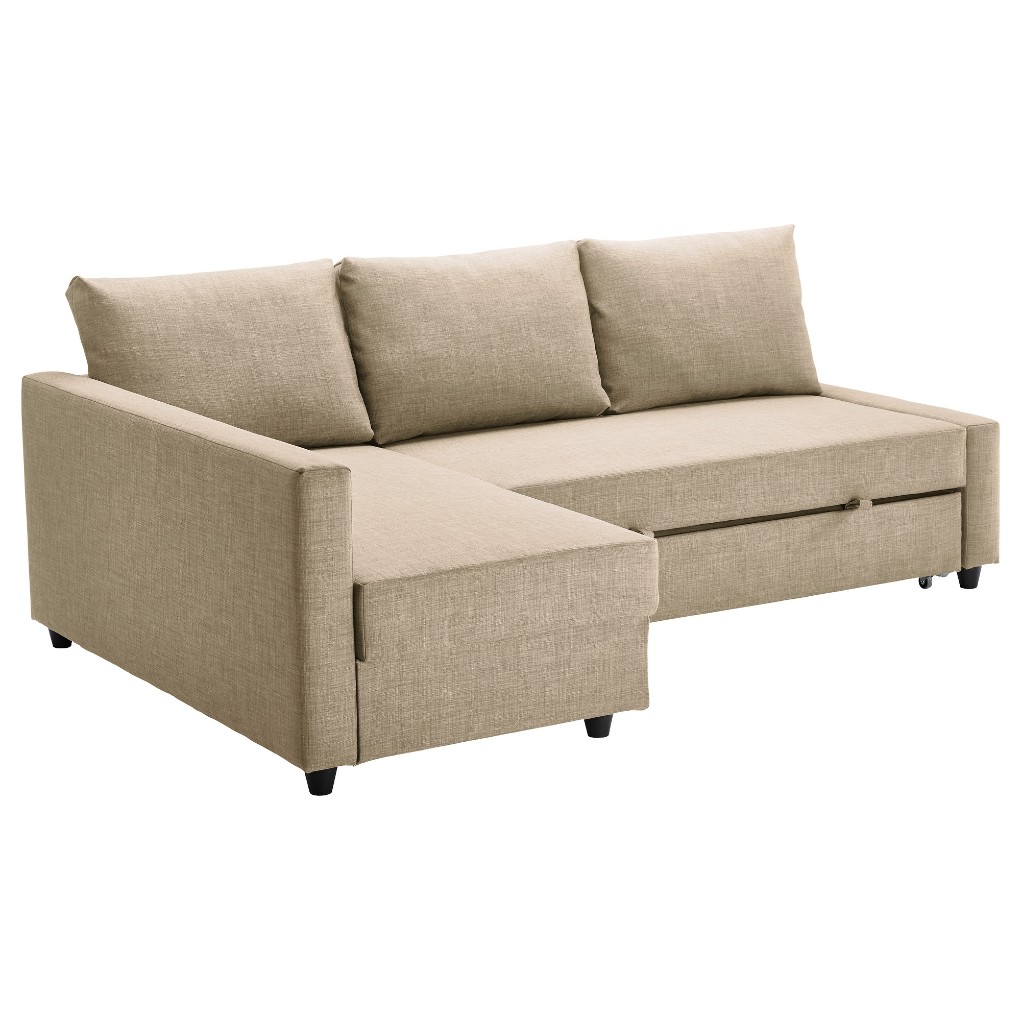 Famous Chaise Sofa Sleepers In Friheten Sleeper Sectional,3 Seat W/storage – Skiftebo Dark Gray (View 7 of 15)