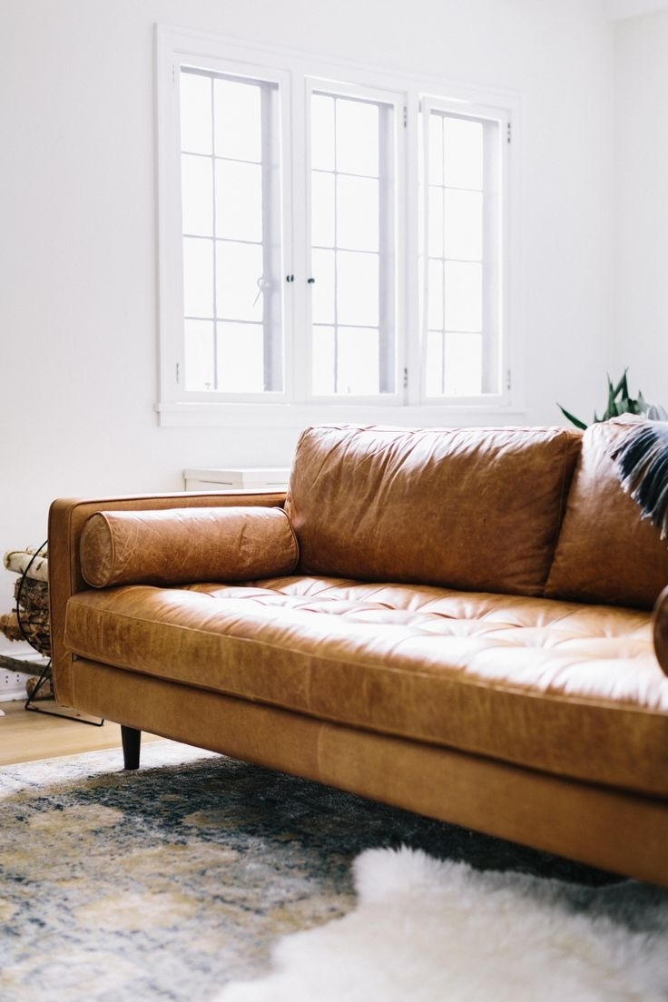 Famous Craigslist Leather Sofas Throughout Benefits Of Restoration Hardware Leather Sofa Furniture Outlet Red (View 10 of 15)