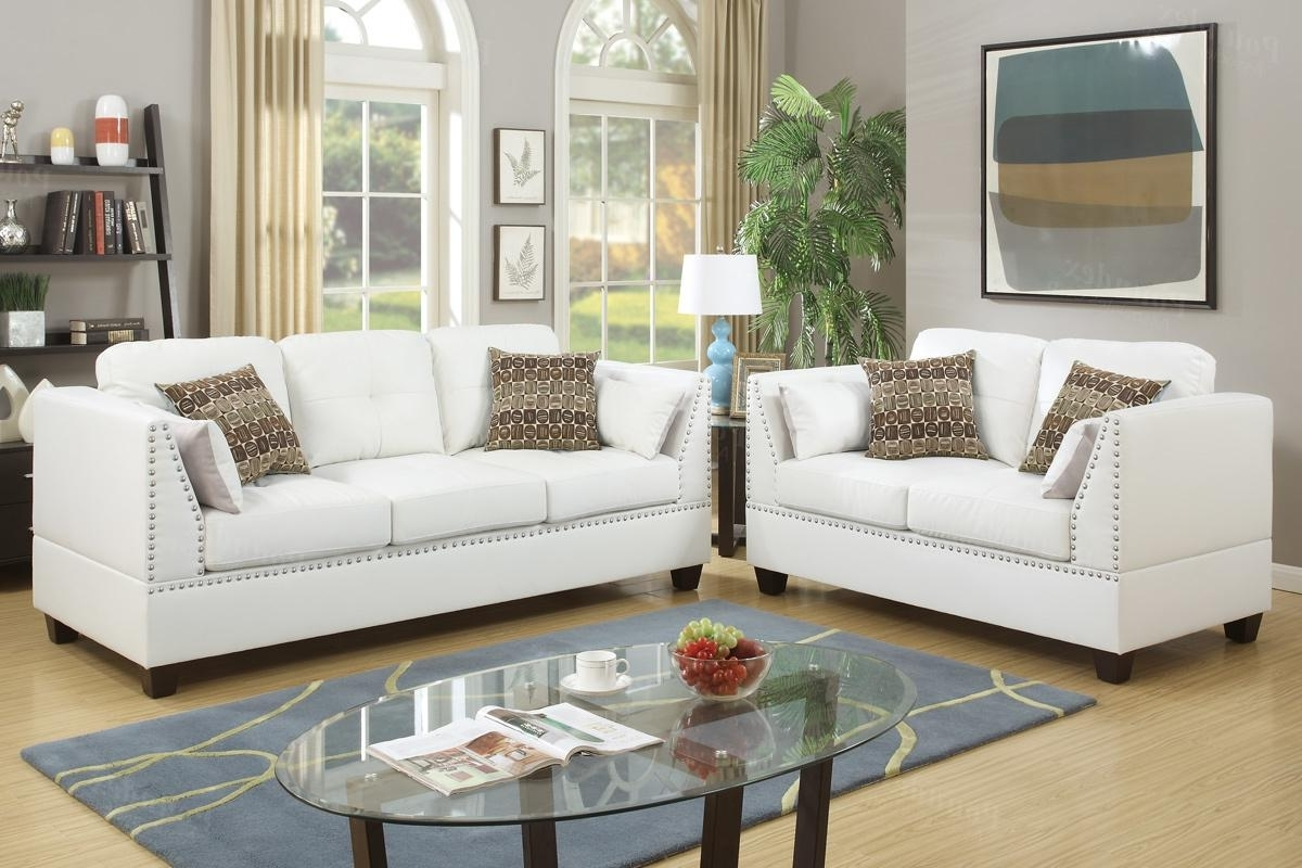 Famous Decorating White Couch And Chair Off White Couch And Loveseat Red Regarding Off White Leather Sofas (View 5 of 15)