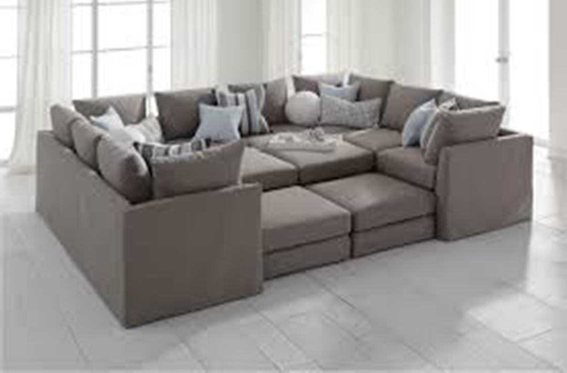 Famous Deep Sectional Sofa – Rpisite Inside Deep Sofas With Chaise (View 6 of 15)