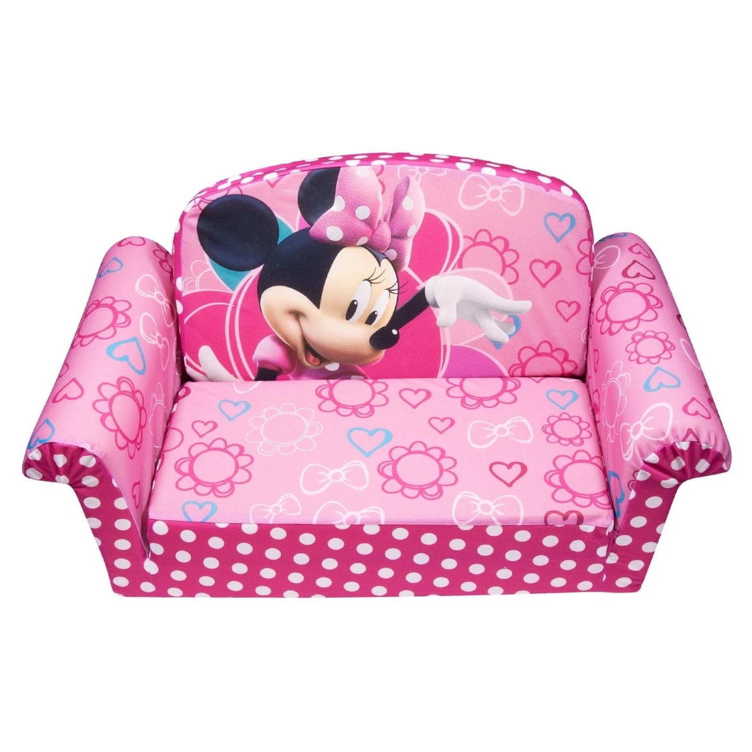 Famous Disney Sofa Chairs Inside Review: Marshmallow Children's Furniture – 2 In 1 Flip Open Sofa (View 6 of 15)