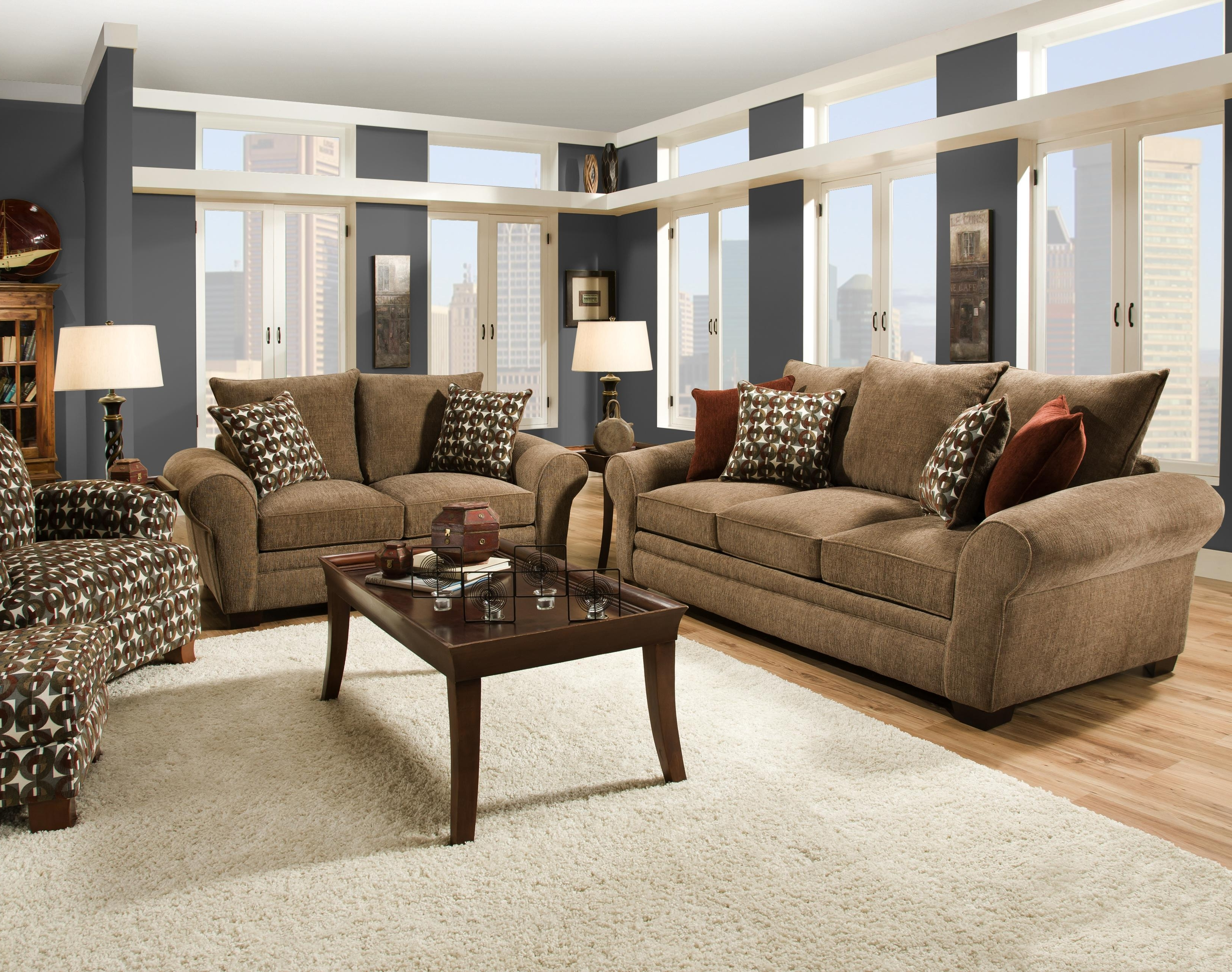 Famous Elegant And Casual Living Room Sofa For Family Styled Comfort Within Comfortable Sofas And Chairs (View 11 of 15)
