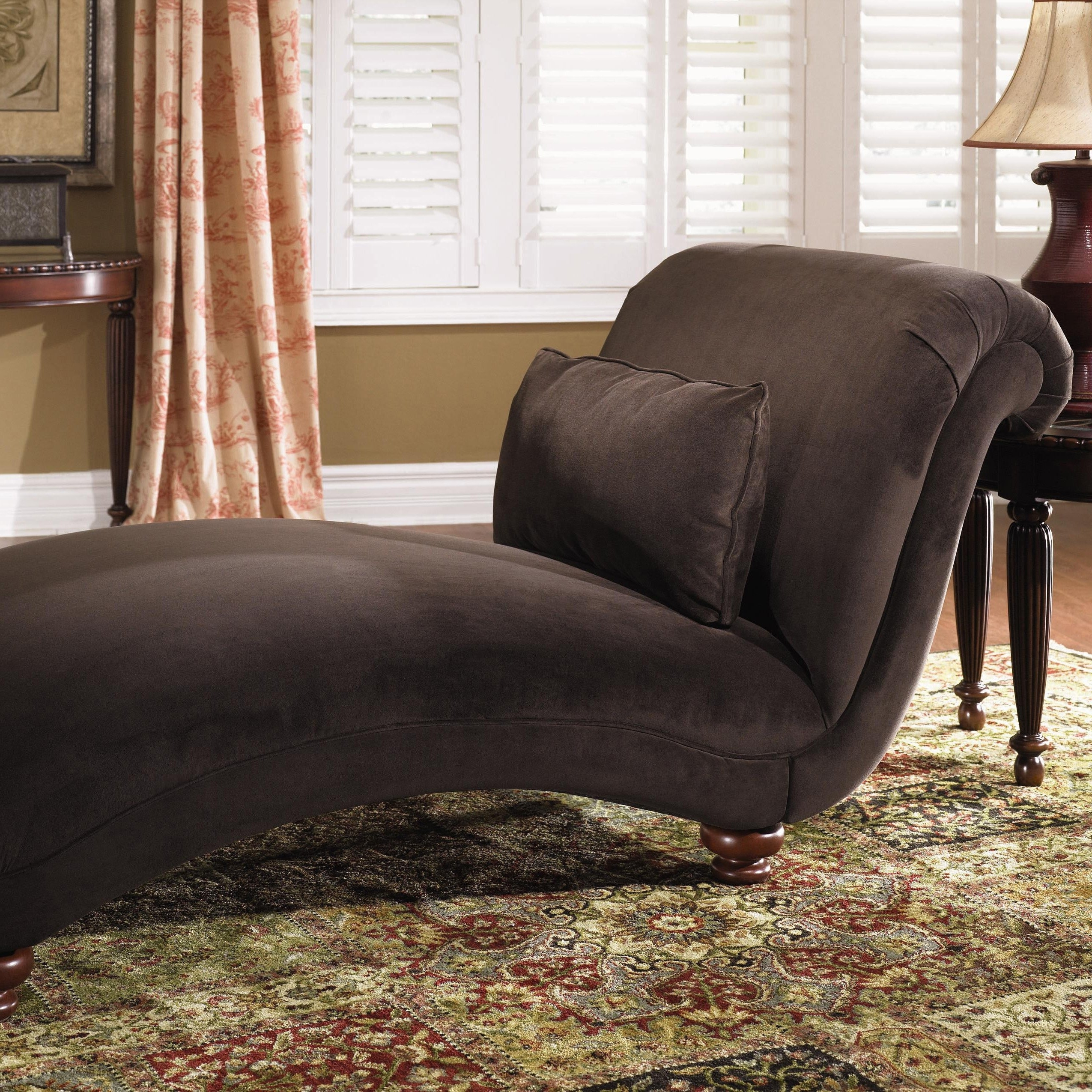 Famous Indoor Chaise Lounge Chairs – Home Designs Ideas Online Regarding 2 Person Indoor Chaise Lounges (View 7 of 15)