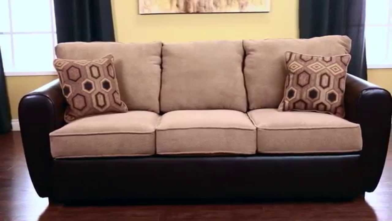 Famous Jerome's Sectional Sofas Intended For Jerome's Furniture London Sofa Sleeper – Youtube (View 10 of 15)