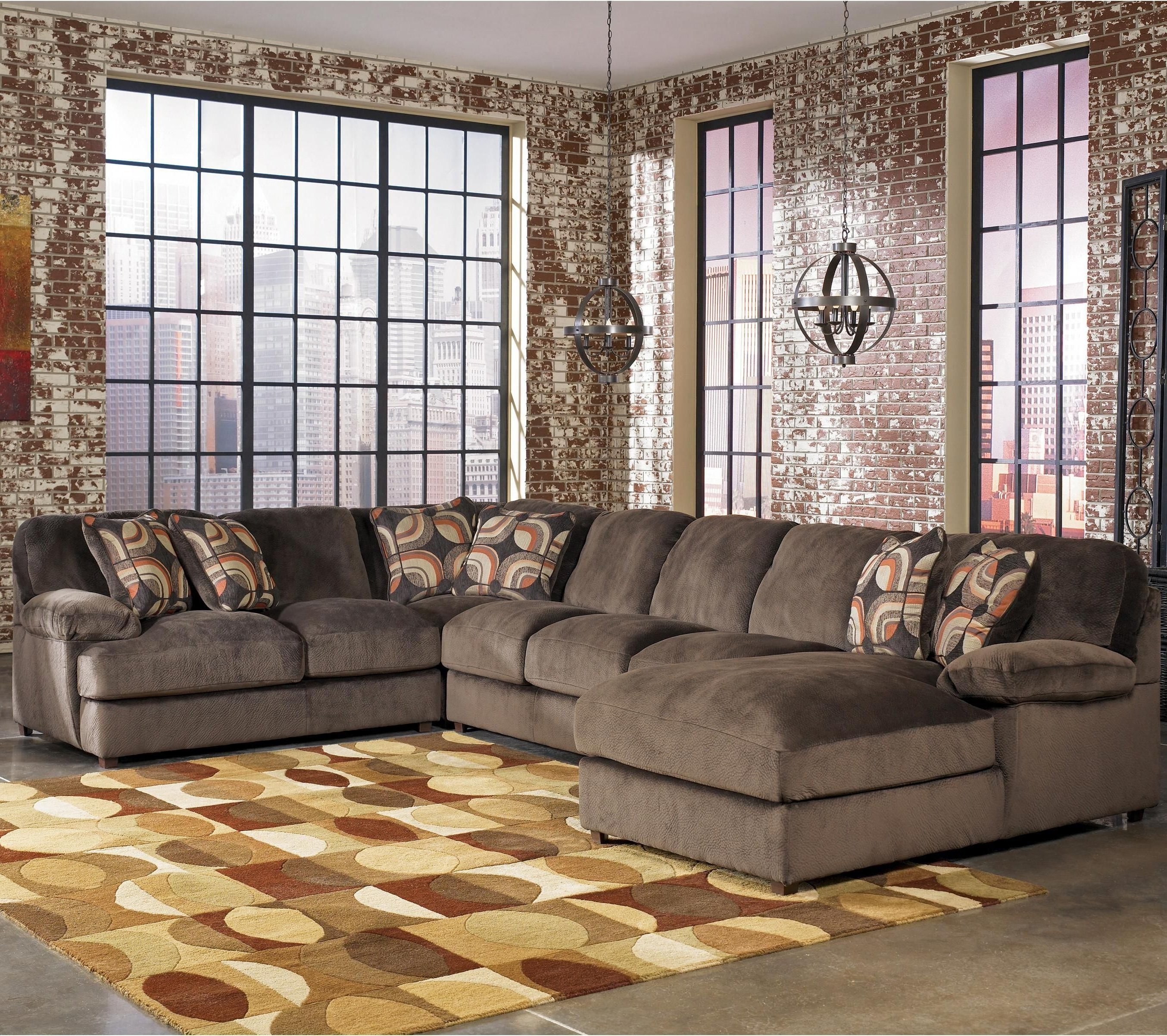 Famous Levitz Furniture Truscotti Sectional – $ (View 3 of 15)