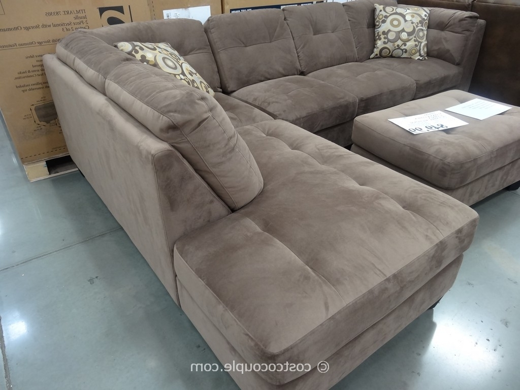 Famous Macy's Sectional Sofas 5 Piece With Ottoman Costco Emerald Also Intended For Sectional Sofas At Costco (View 10 of 15)