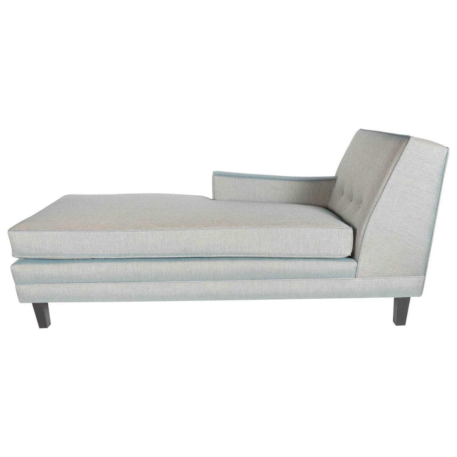 Famous Mid Century Chaises Regarding Mid Century Modern Chaise Lounge With Low Profile Design At 1Stdibs (View 3 of 15)