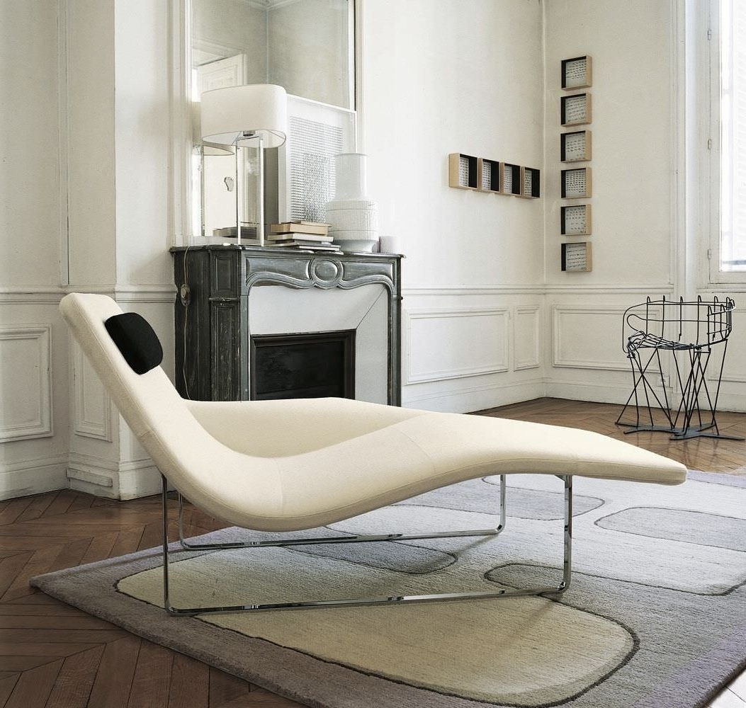 Famous Modern Chaises Pertaining To Modern Contemporary Chaise Lounge Furniture – Http://zoeroad (View 6 of 15)