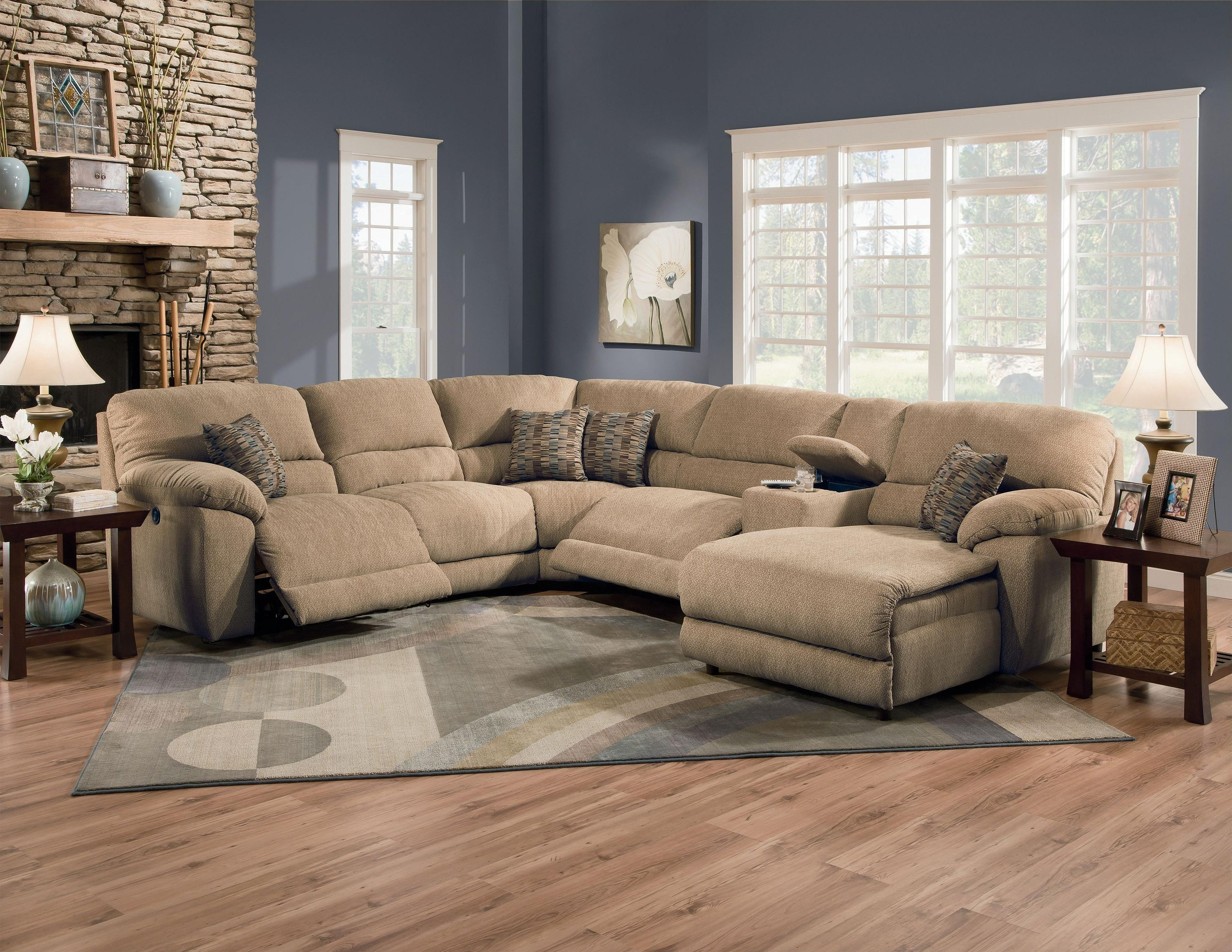 Famous Nashville Sectional Sofas With Lane Furniture: Rivers Collection Featuring Power Reclining (View 4 of 15)