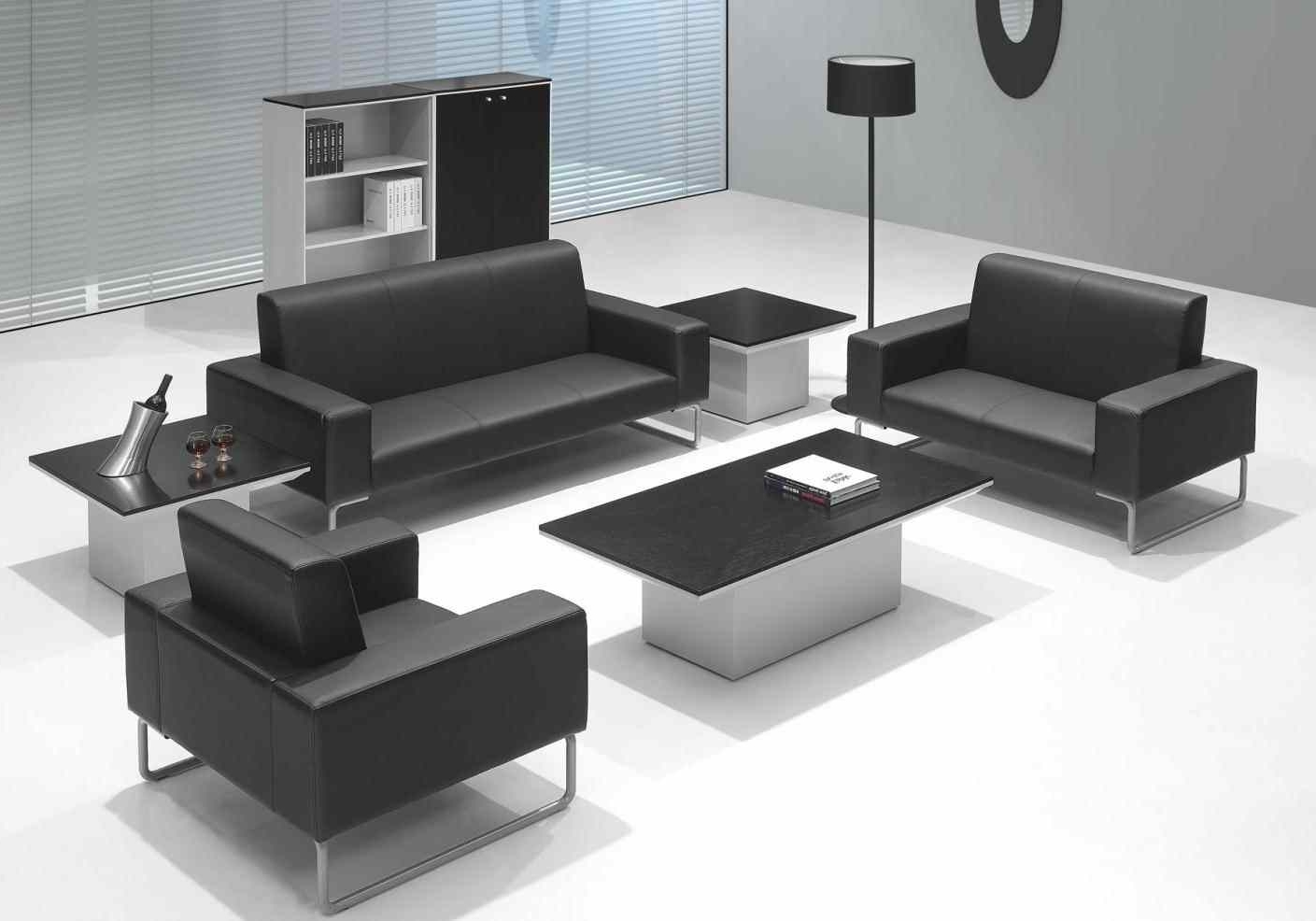 Famous Office Sofas Intended For Sofa : Business Casual Boss Furniture Wooden Business Sofa Office (View 8 of 15)
