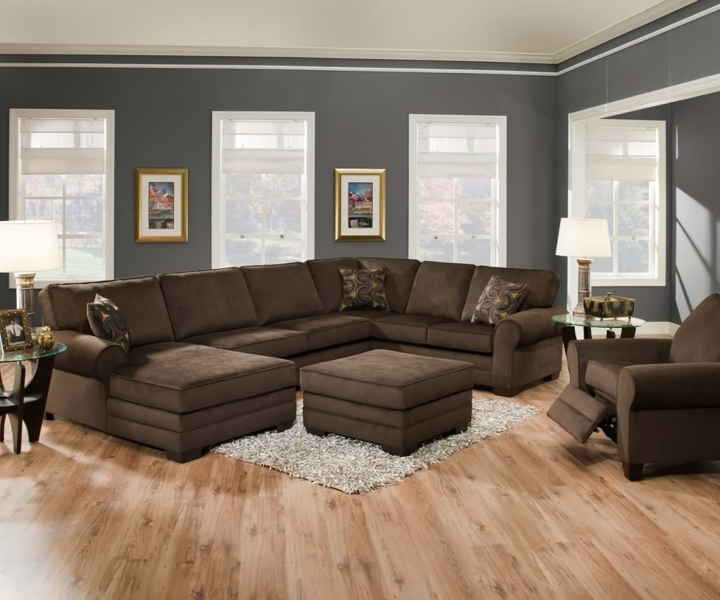 Famous Oversized Couches Ashley Furniture U Shaped Sectional Sofa With Intended For Big U Shaped Sectionals (View 3 of 15)
