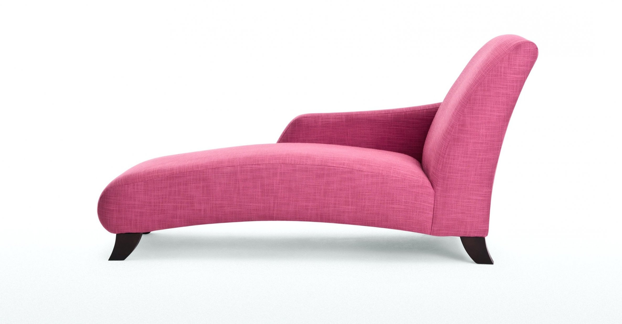Famous Pink Chaise Lounge Sofa Inside Pink Chaise Lounges (View 2 of 15)