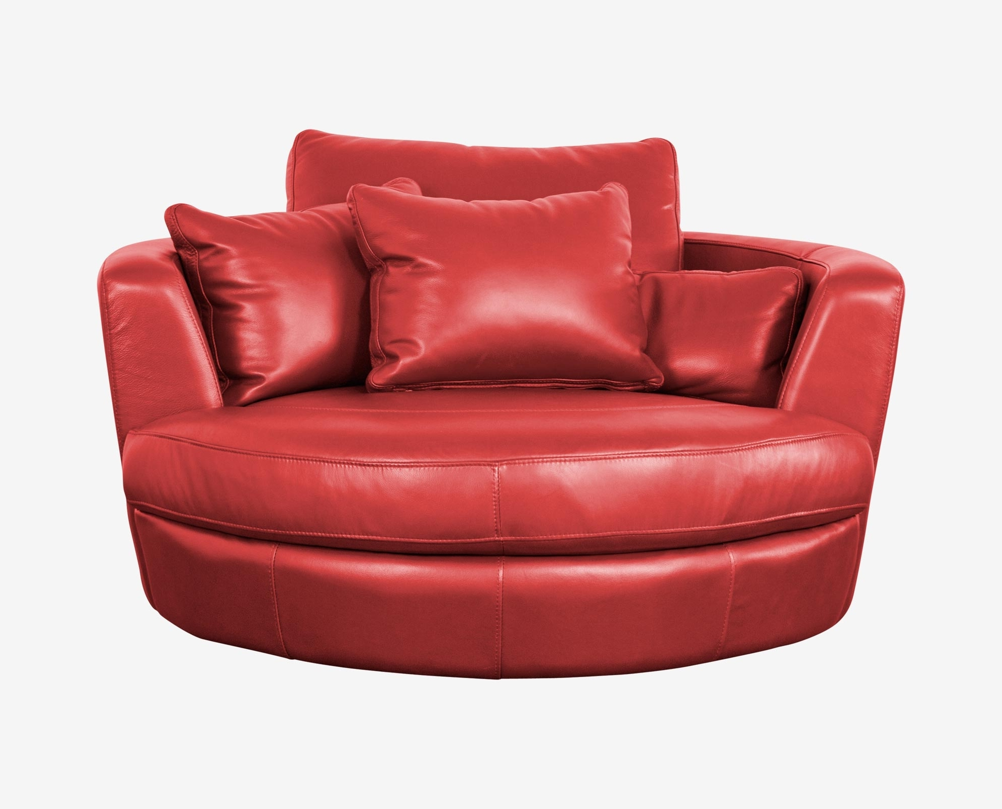 Famous Round Swivel Sofa Chairs Pertaining To Round Sofa Chair (View 4 of 15)