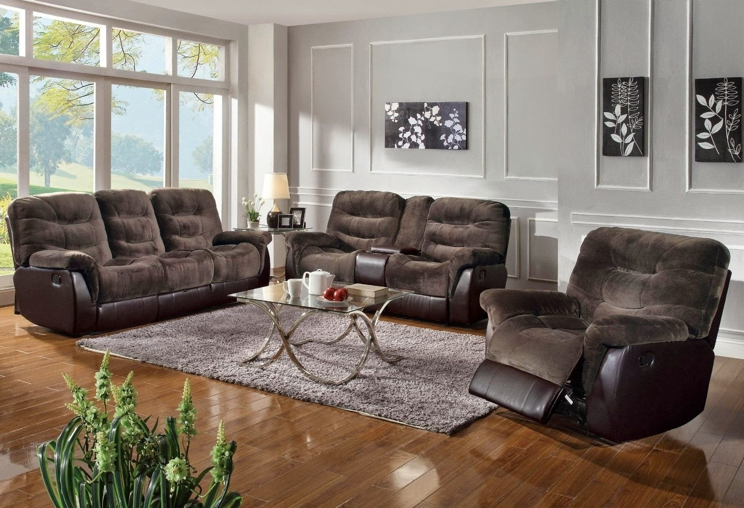 Famous Sectional Sofas For Small Spaces With Recliners With Regard To Furniture Reclining Sectional Sofas For Small Spaces Reclining (View 4 of 15)