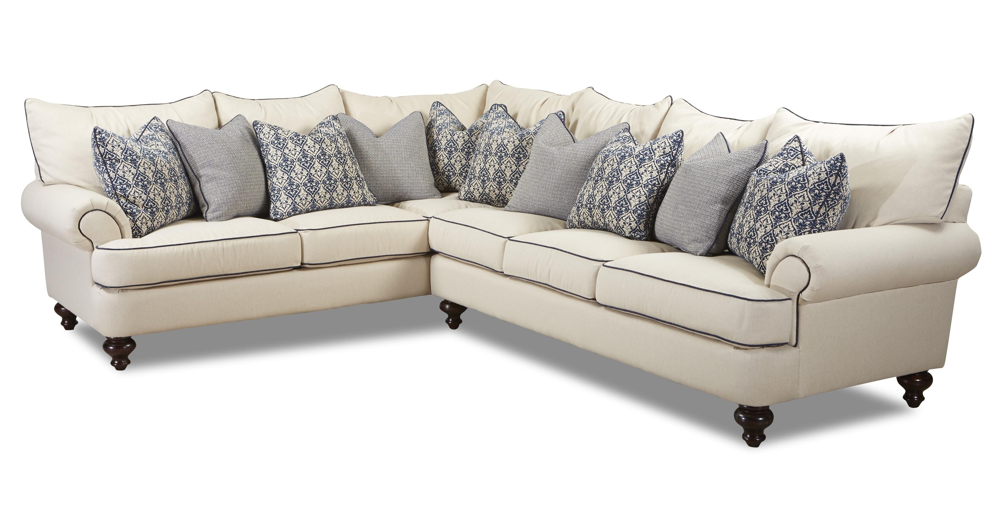 Famous Shabby Chic Sectional Sofaklaussner (View 2 of 15)
