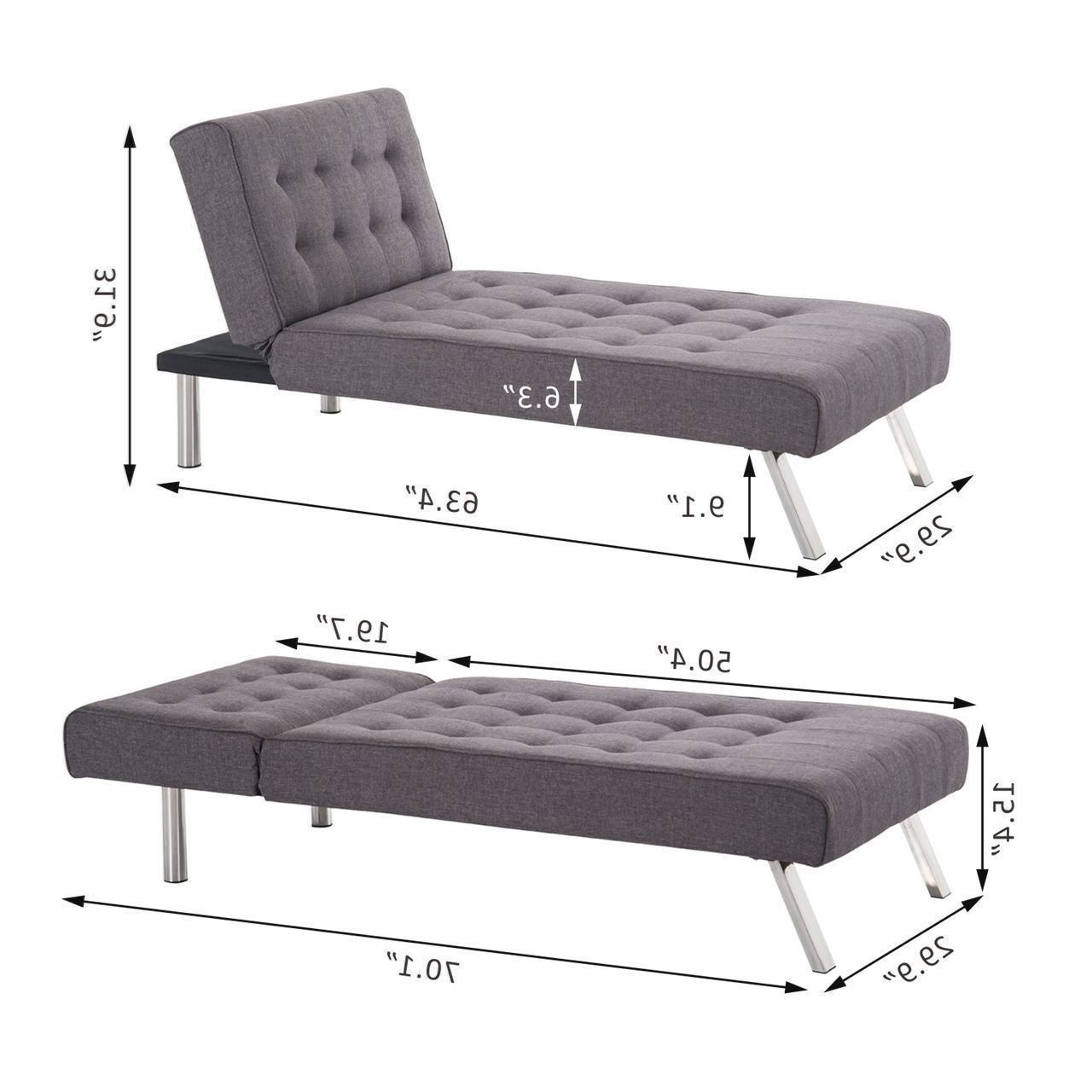 Famous Sleeper Sofath Chaise Lounge Codeminimalist Net Fascinating Image Pertaining To Sleeper Chaise Lounges (View 5 of 15)