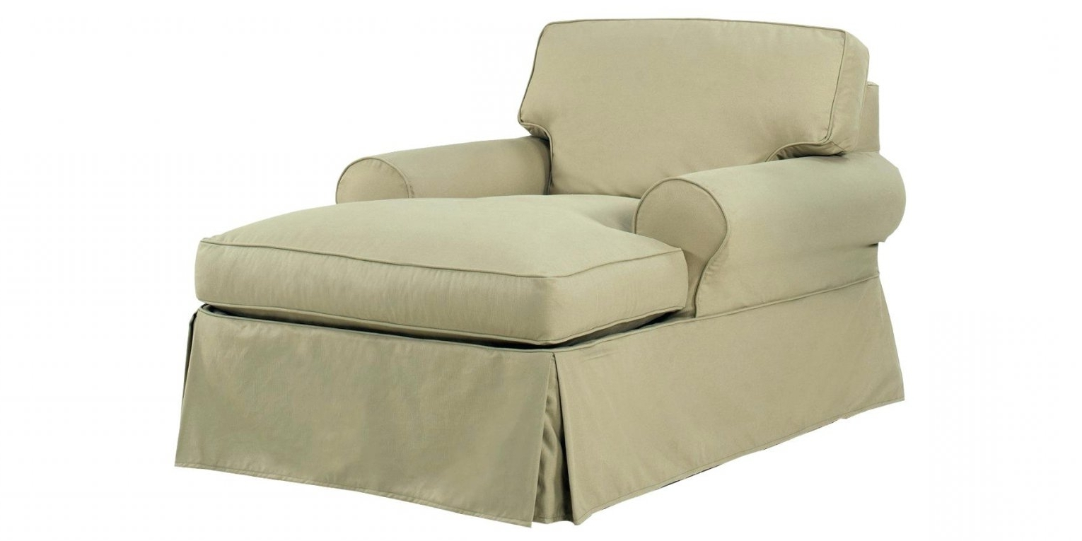 Famous Slipcovesr For Chaise Lounge Throughout Chaise Lounge Furniture Covers (View 5 of 15)