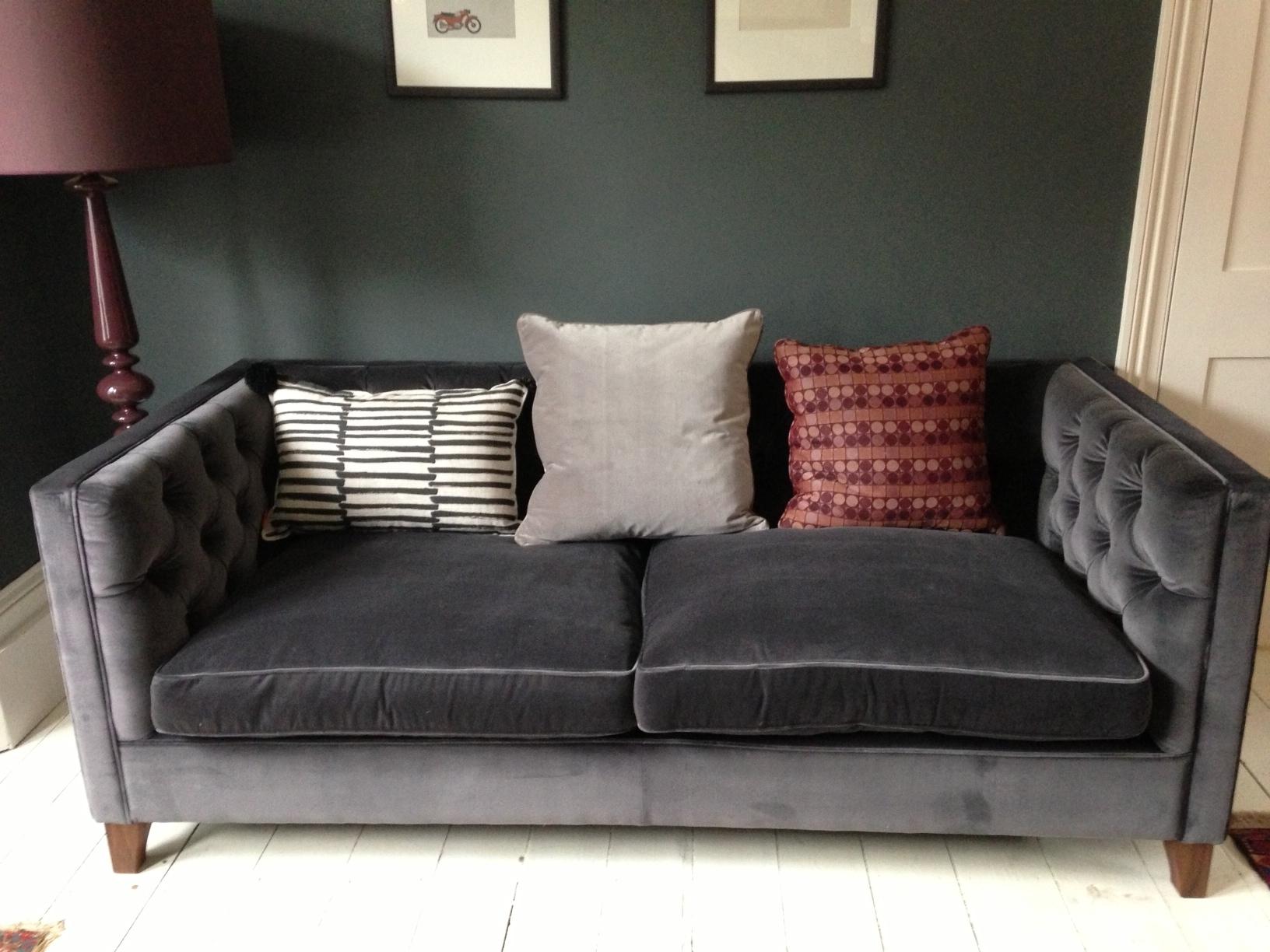 Famous Velvet Sofas Regarding Inspirational Velvet Sofas 52 On Modern Sofa Ideas With Velvet Sofas (View 2 of 15)