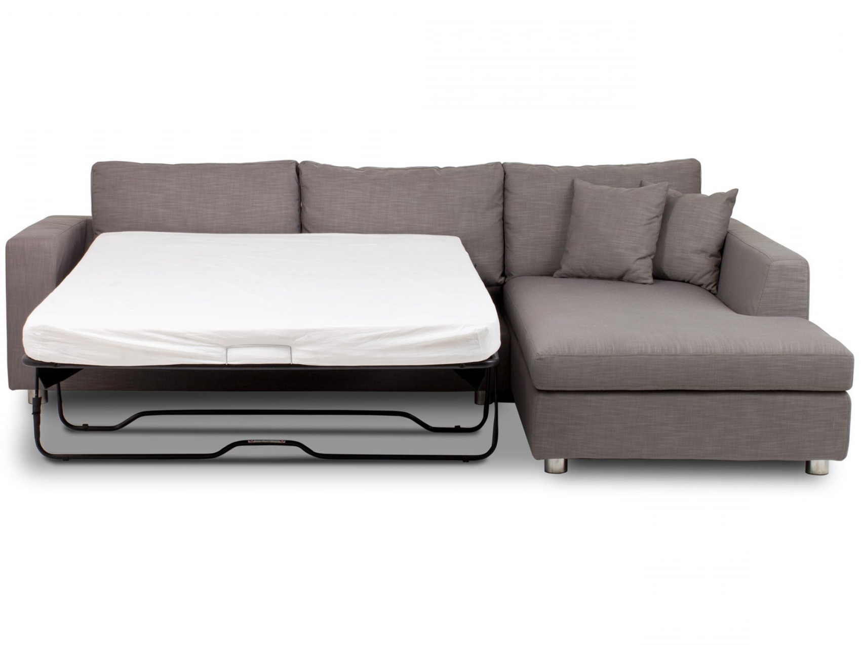 Famous Vivacious Chaise Sofa Bed With Softly Bed Foam For For Chaise With Sofa Beds With Chaise (View 3 of 15)