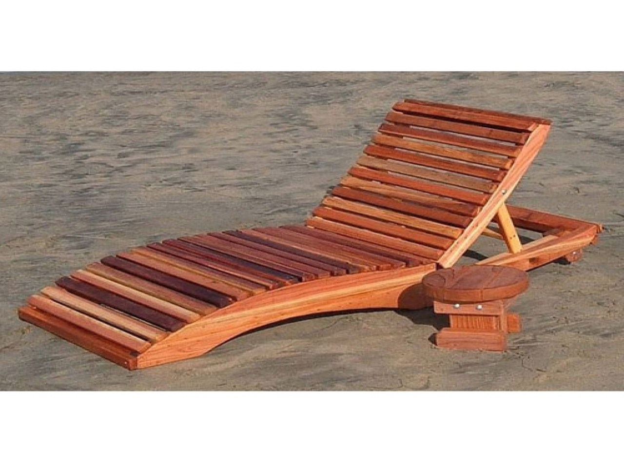 Famous Wood Chaise Lounge Chairs Within Teak Deck Chair Plans Adirondack Templates With Plan Trends And (View 3 of 15)