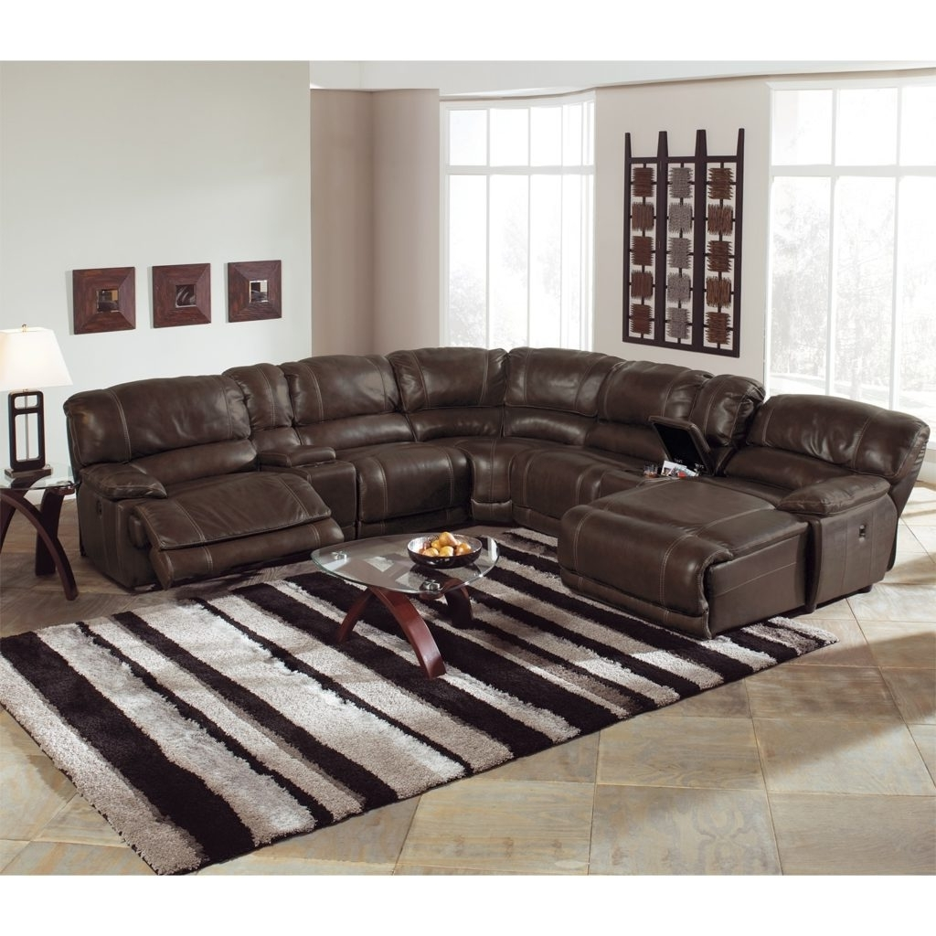 Fancy Power Reclining Sectional Sofa 11 For Your Modern Sofa Ideas Within Well Known Sectional Sofas With Power Recliners (View 4 of 15)