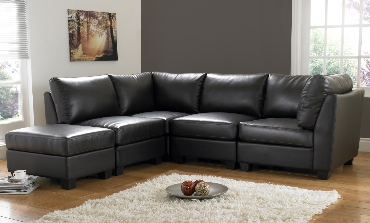 Fashionable 18 Living Room Leather Sofa (View 13 of 15)