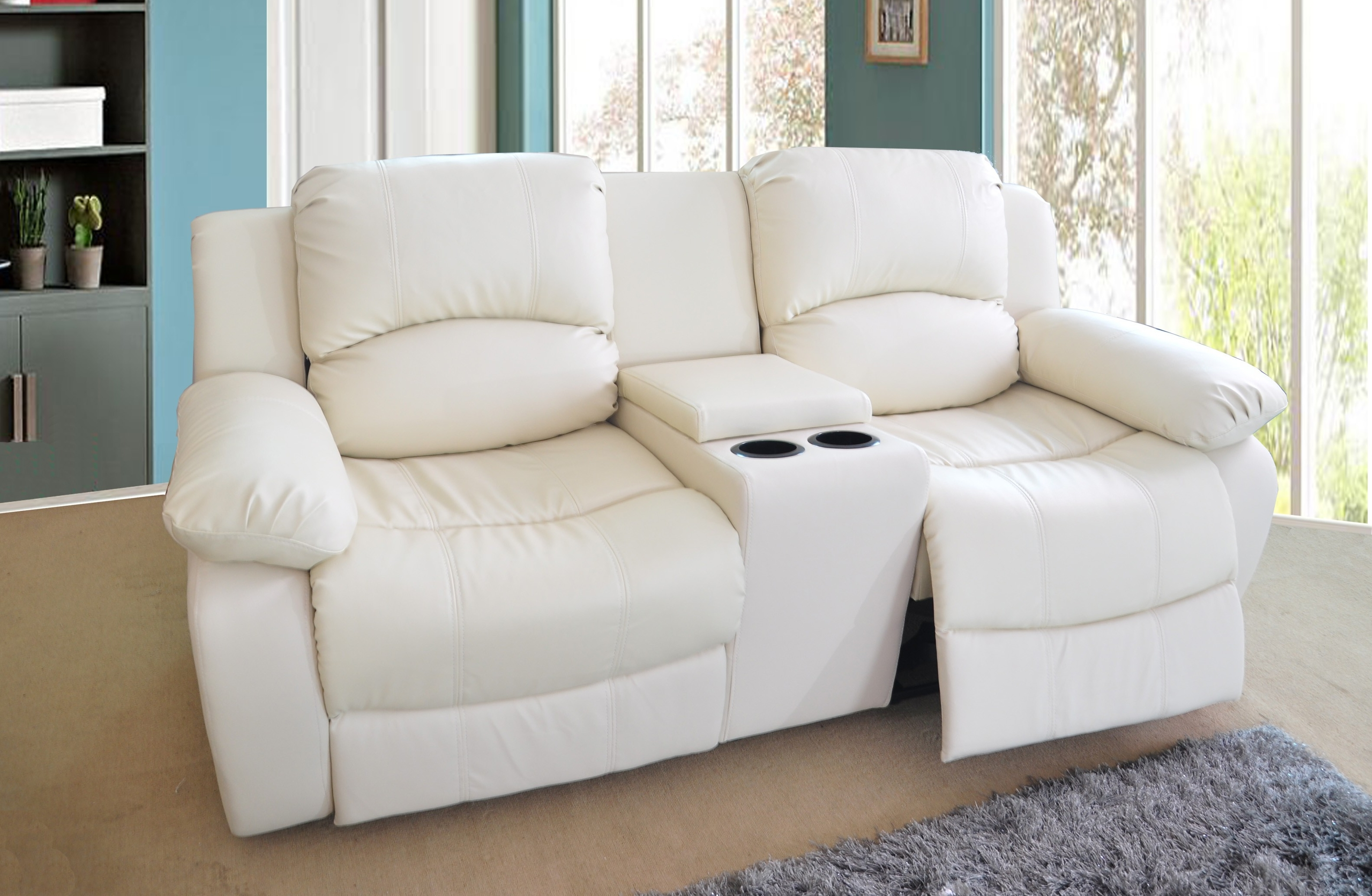 Fashionable 2 Seat Recliner Sofas With Regard To Recliners Chairs & Sofa : Fresh 56 Flawless Fabric Sofa Recliner (View 11 of 15)