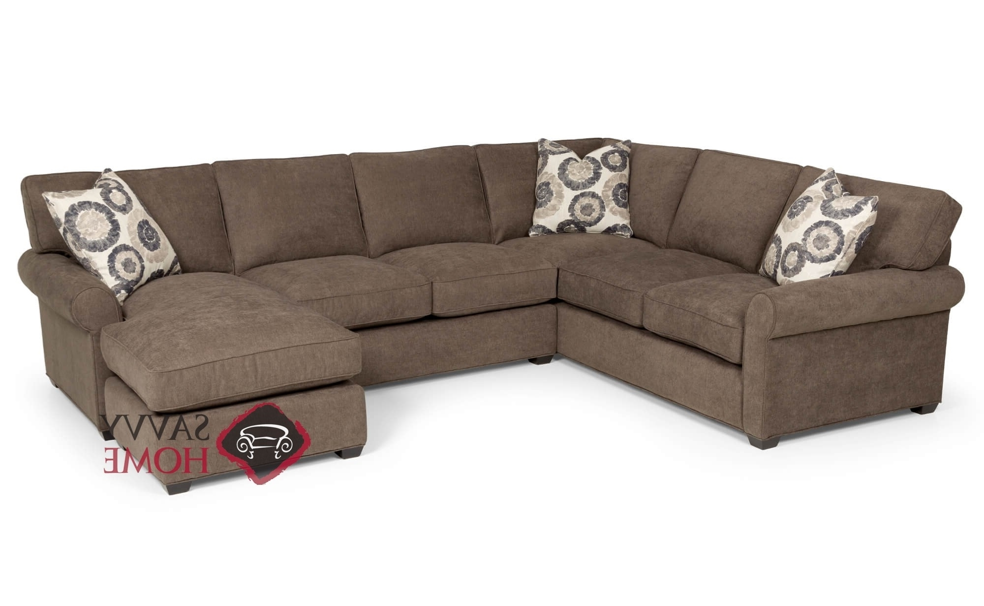 Fashionable 225 Fabric True Sectionalstanton Is Fully Customizableyou Inside Seattle Sectional Sofas (View 5 of 15)