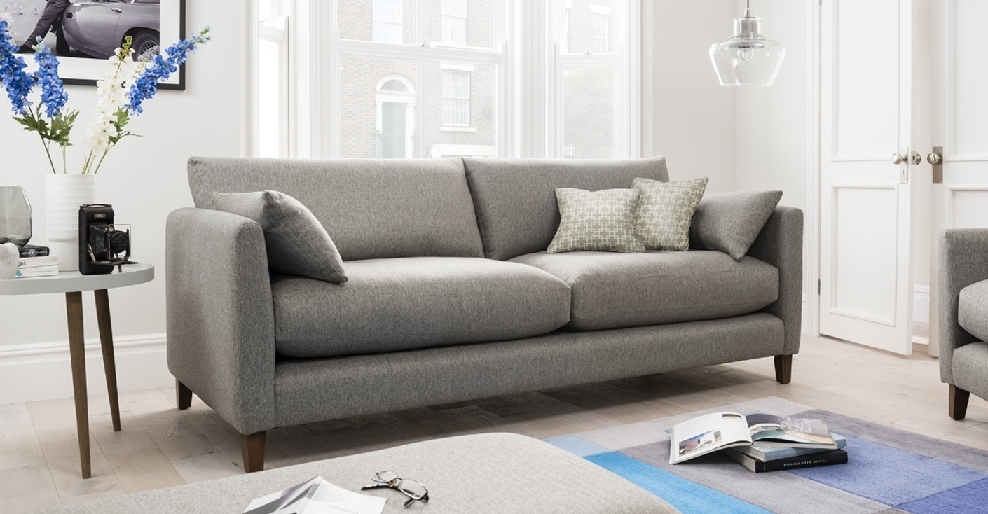 Fashionable 4 Seater Sofas In 4 Seater Sofa (View 11 of 15)