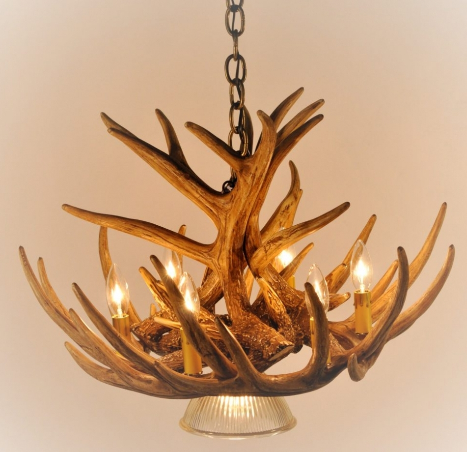 Fashionable Antlers Chandeliers With Regard To Chandelier ~ Chandelier : Faux Deer Antler Chandelier Ebay Antler (View 3 of 15)
