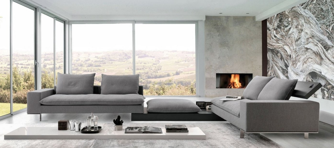 Fashionable Attractive Italian Modern Sofas #5 Sectional Sofas Italian For Modern Sofas (View 4 of 15)