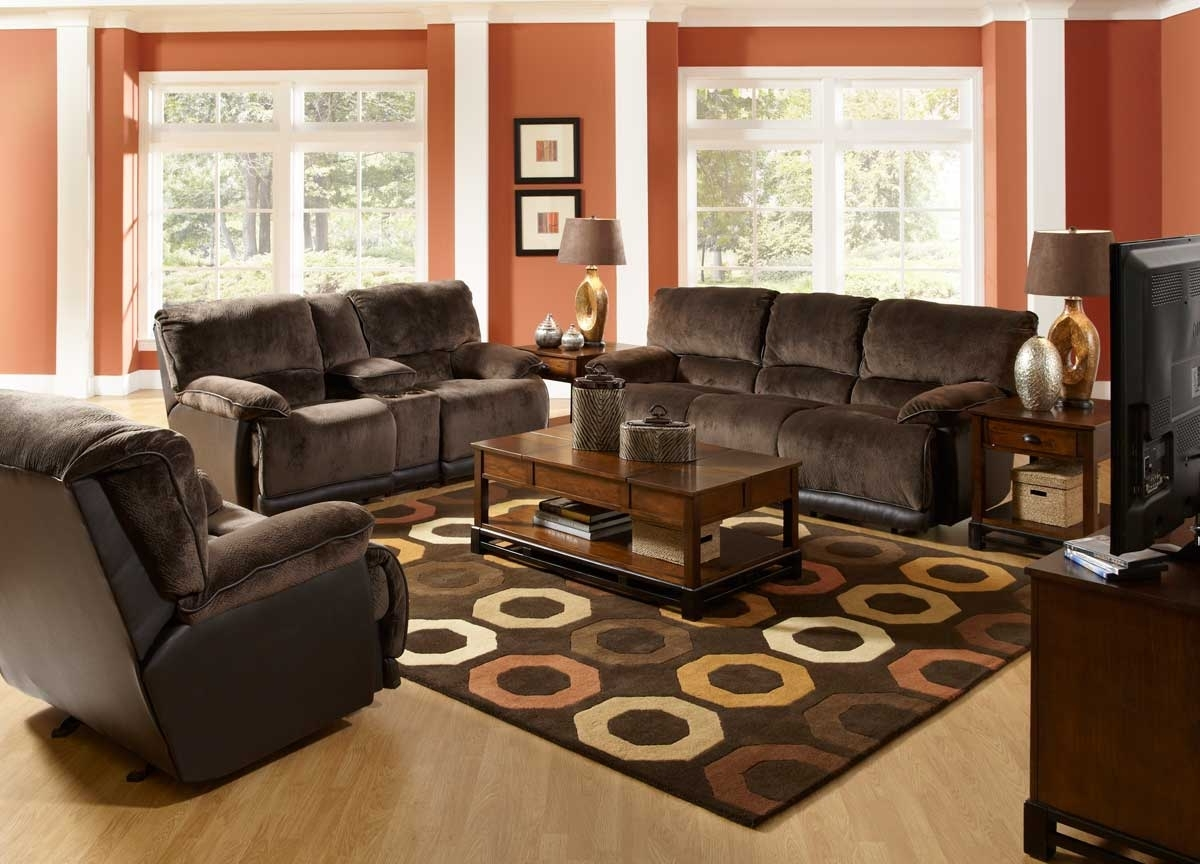 Fashionable Brown Sofa Chairs In Living Room : Living Room Brown Sofa Decorating Ideas Lovely Light (View 7 of 15)