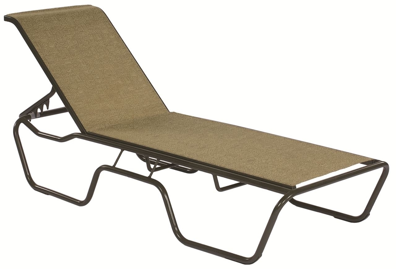 Fashionable Commercial Sling Chaise Lounge Sanibel Stacking  Outdoor Patio Inside Commercial Outdoor Chaise Lounge Chairs (View 5 of 15)