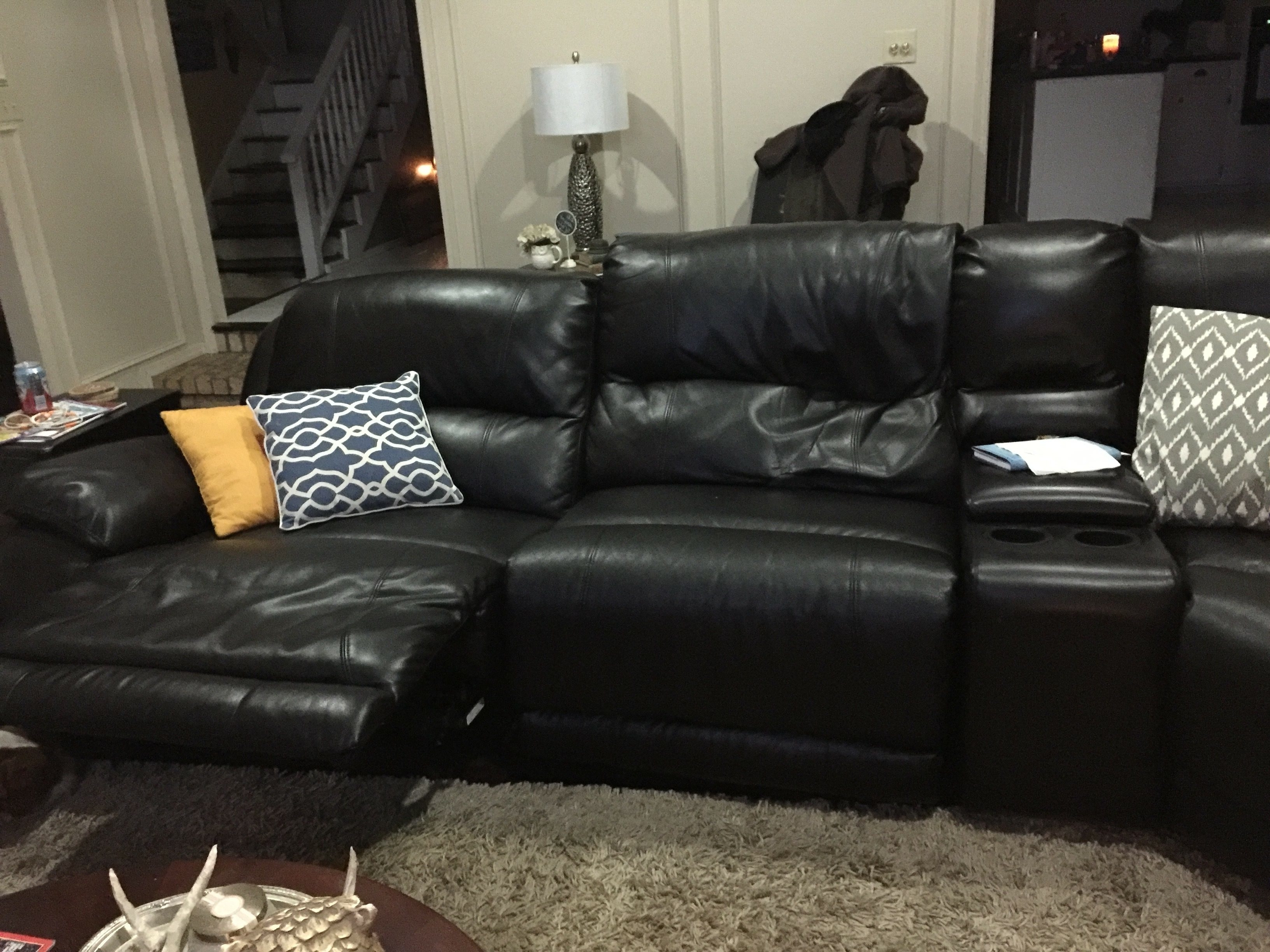 Fashionable Craigslist Leather Sofas Within Trend Craigslist Leather Sofa 31 About Remodel Living Room Sofa (View 12 of 15)