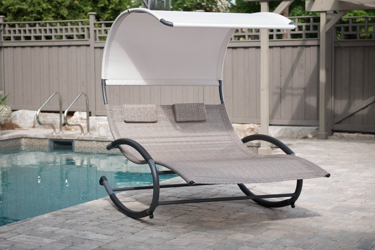 Fashionable Extra Wide Outdoor Chaise Lounge Chairs Regarding Outdoor : Double Chaise Chair Oversized Chaise Lounge Indoor Extra (View 5 of 15)