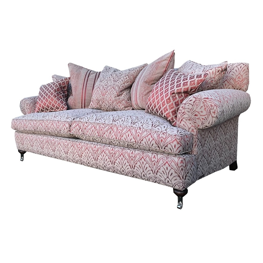 Fashionable Florence Grand Sofas Regarding Clearance Duresta Sofa Burford Grand In Florence Damask Russet (View 5 of 15)