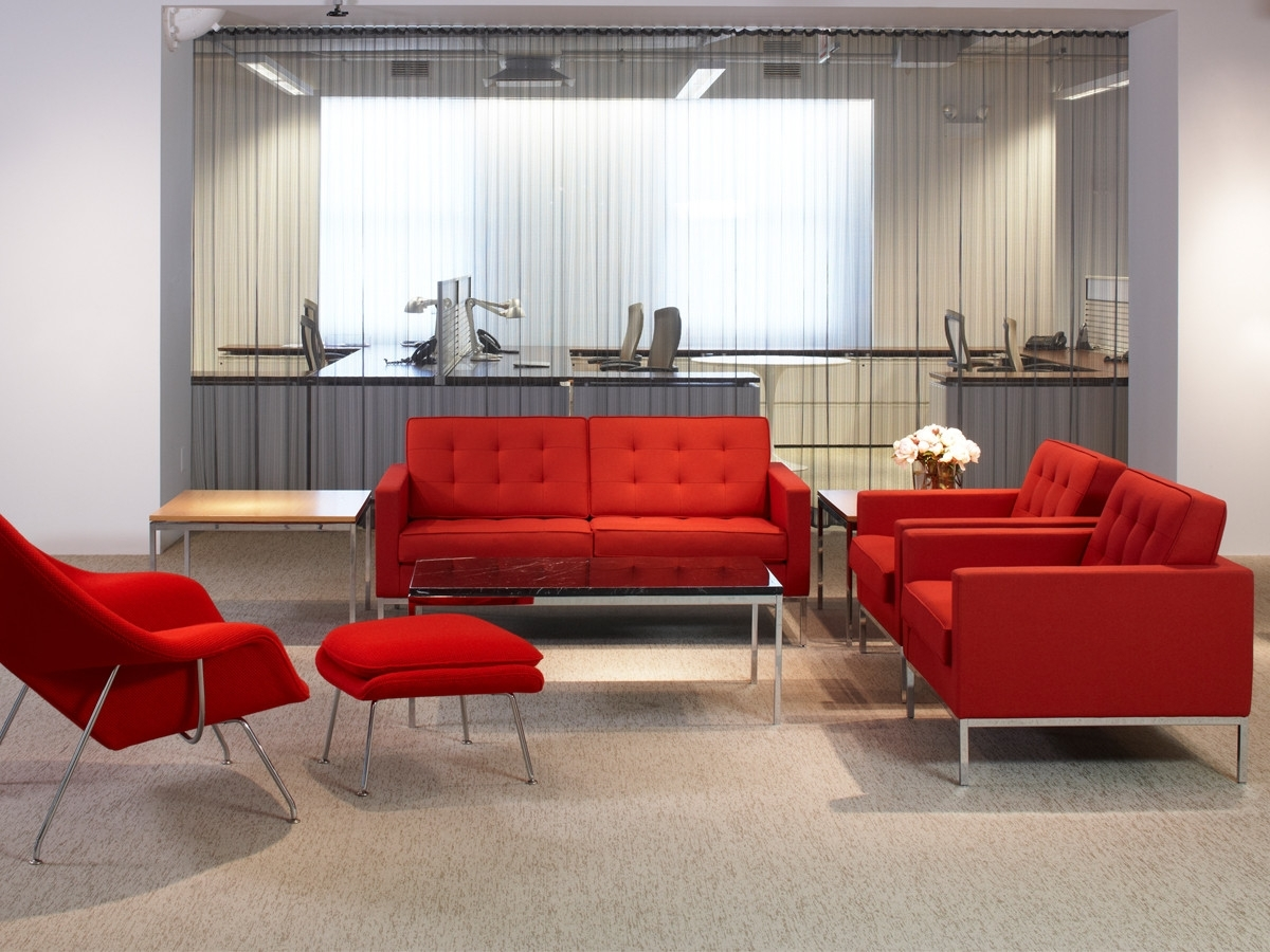 Fashionable Florence Knoll Living Room Sofas Within Buy The Knoll Studio Knoll Florence Knoll Two Seater Sofa At Nest (View 3 of 15)