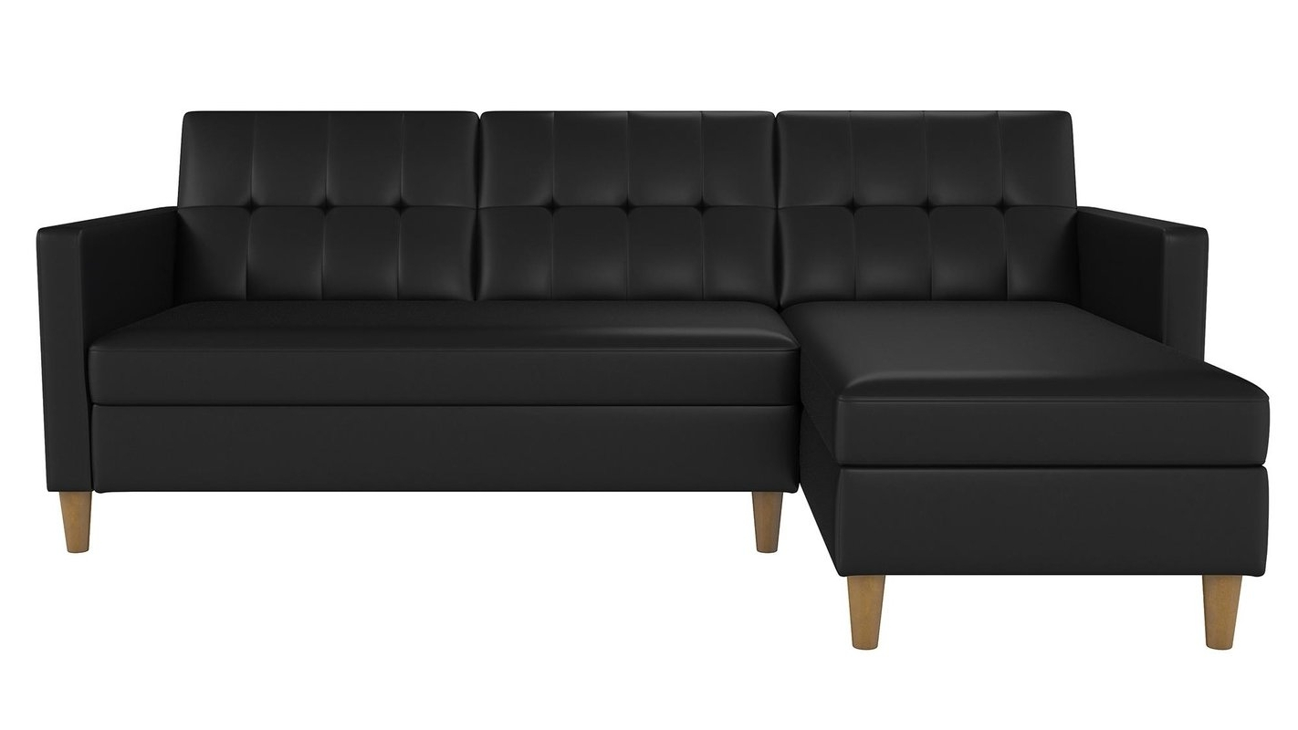 Fashionable Gainesville Fl Sectional Sofas Intended For Brayden Studio Stigall Reversible Sleeper Sectional & Reviews (View 4 of 15)