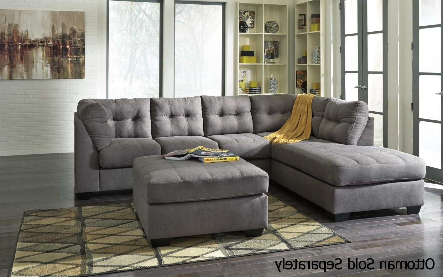 Fashionable Gray Sectional Sofa Plus Also Fabric Sectional Sofas Plus Also In Light Grey Sectional Sofas (View 2 of 15)