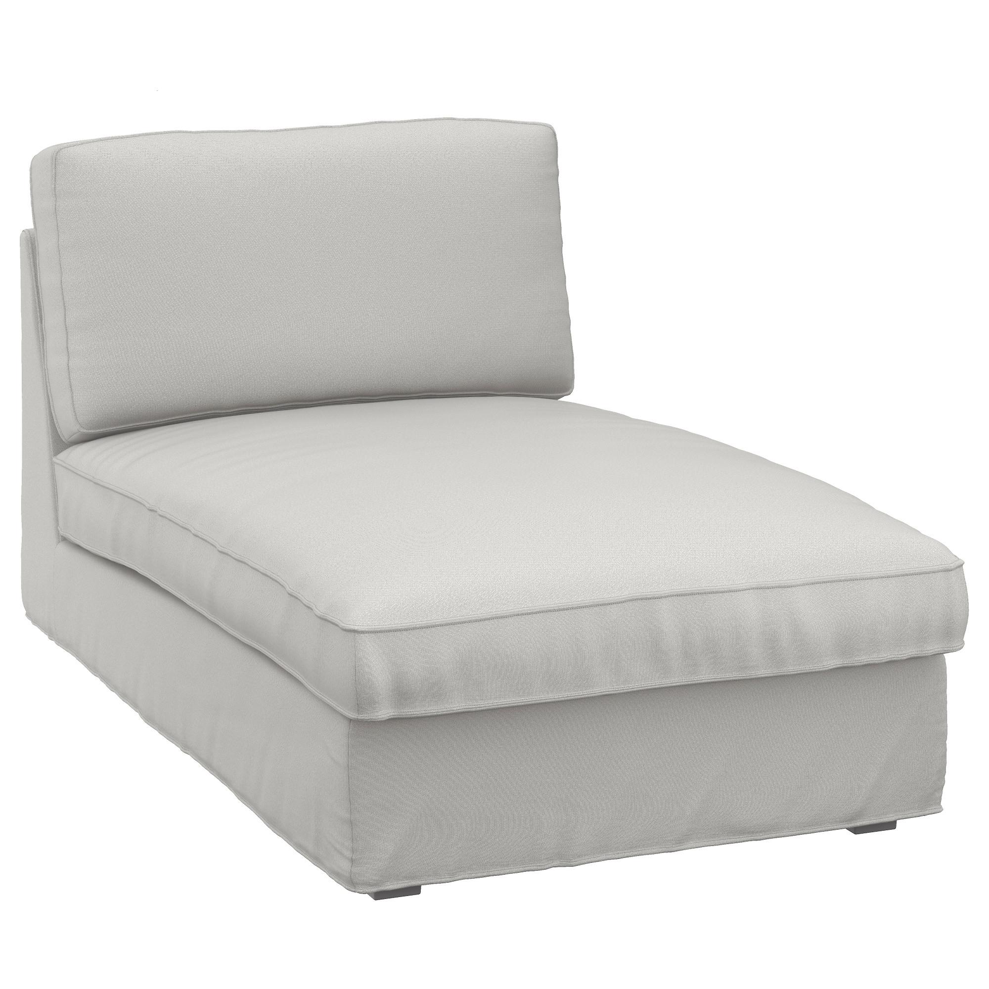 Fashionable Ikea Chaise Longues Inside Kivik Chaise Longue Ramna Light Grey – Ikea (View 7 of 15)
