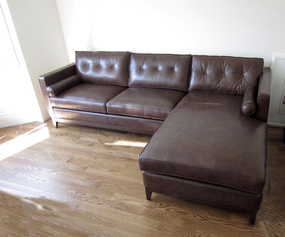 Fashionable Leather Sofa Chaises For 19 Leather Sofas With Chaise (View 3 of 15)