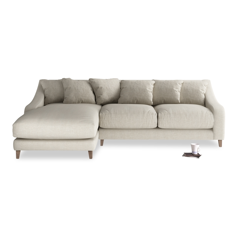 Fashionable Long Chaise Sofas Within Oscar Chaise Sofa (View 4 of 15)